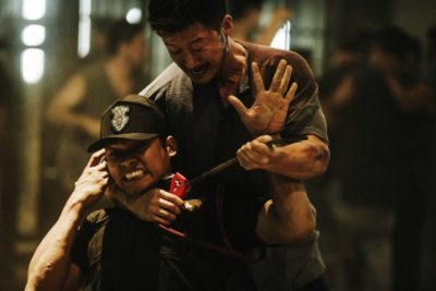 Tony Jaa and Simon Yam Kill Zone 2 fighting in Thai prison