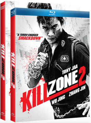 kill zone 2 dvd and blue ray box cover